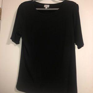 Lularoe black shirt sleeve shirt size women's xxl